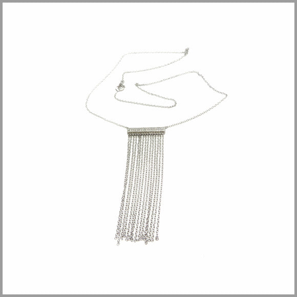 PS5.70 Silver Chain Pendant Necklace