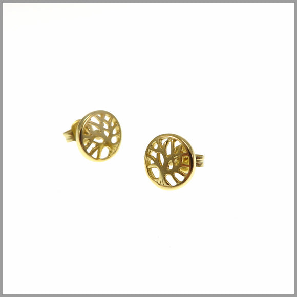 PS9.53 Gold Tree of Life Earrings