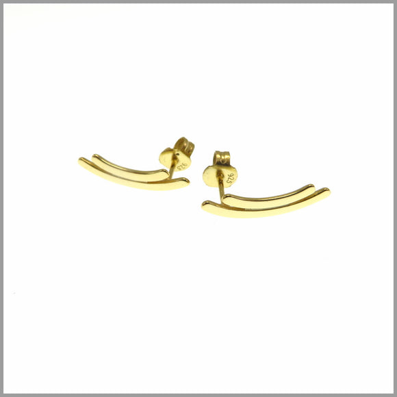 PS6.14 Gold Bracket Earrings