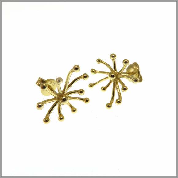 PS9.56 Gold Firework Earrings