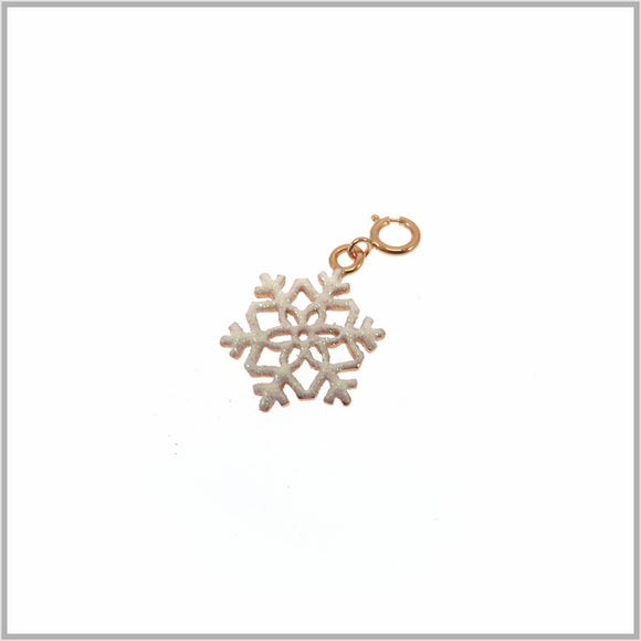 PS7.49 Rose Gold Snowflake Charm/Pendant