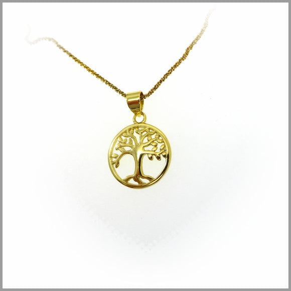 PS7.52 Gold Tree of Life Pendant
