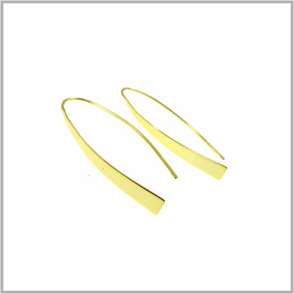 PS9.111 Sculptural Gold Earrings