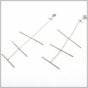 PS9.116 Silver Mobile Earrings