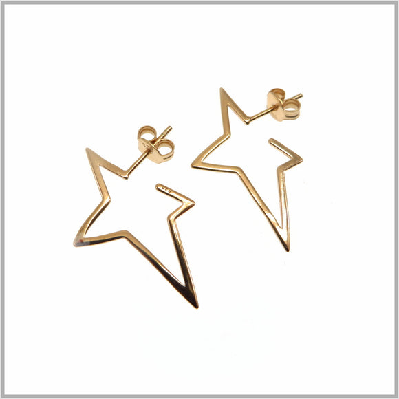 PS9.15 Rose Gold Fallen Star Earrings