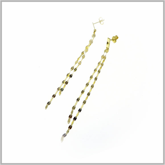 PS9.64 Gold Dew Drop Earrings