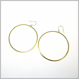 PS9.71 Large Gold Hoop Earrings