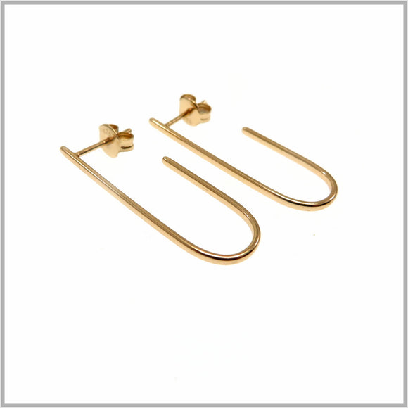 PS9.77 Rose Gold Hook Earrings