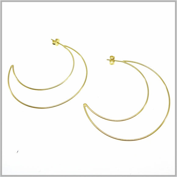 PS9.91 Gold Moon Earrings
