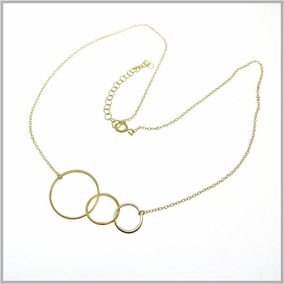 PS9.97 Gold Infinity Circle Necklace