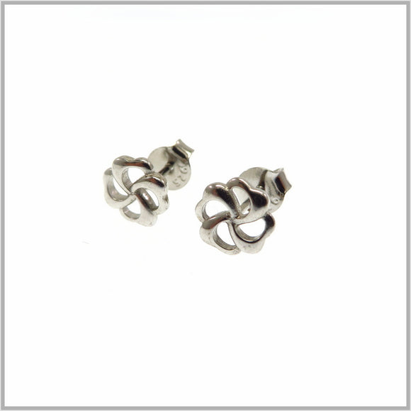 TY1.3 Miniature Four Leaf Clover Earrings