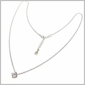 TY1.60 Cubic Zirconia Drop Necklace