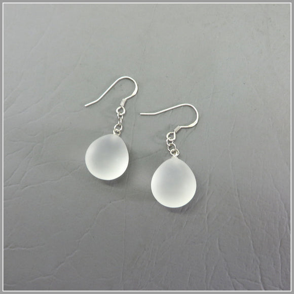 YS3.2 Frosted Quartz Earrings