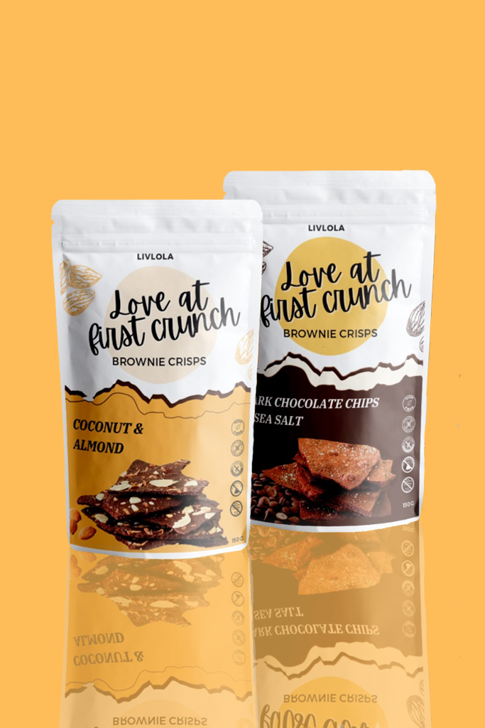 LIVLOLA Brownie Crisps (2 packs)