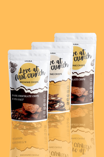 LIVLOLA Brownie Crisps (3 Packs)