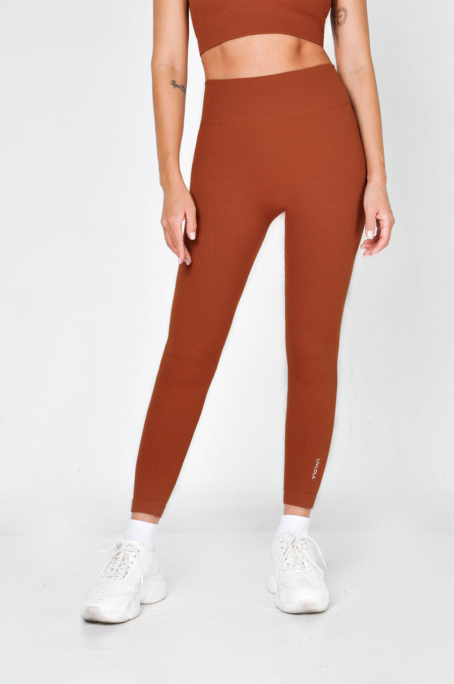 Perform Ribbed Leggings