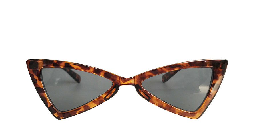 KENDALL BUTTERFLY SUNGLASSES in leopard print