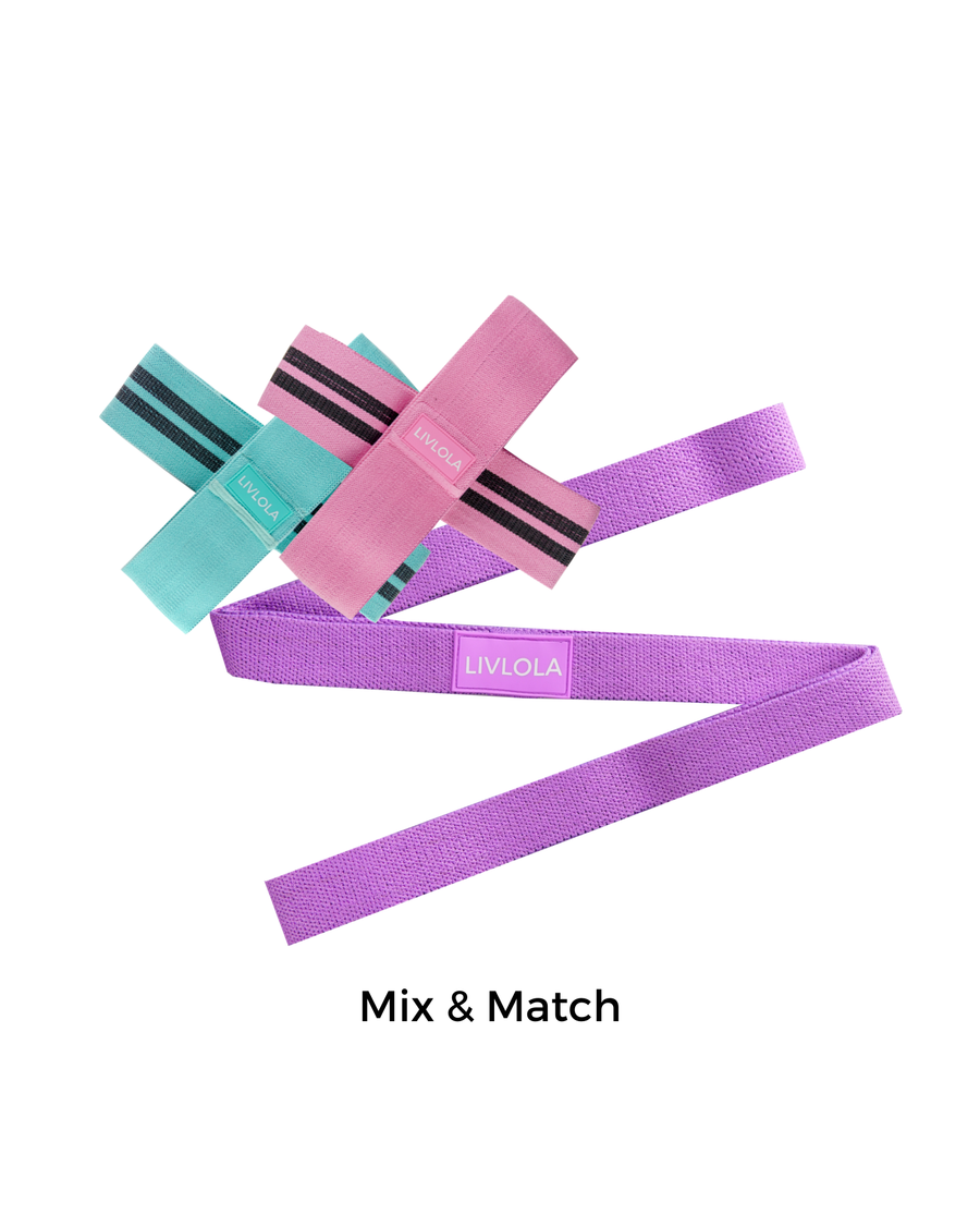 Resistance Band (Mix & Match 3 Bands)