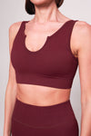 Perform Ribbed Crop Top