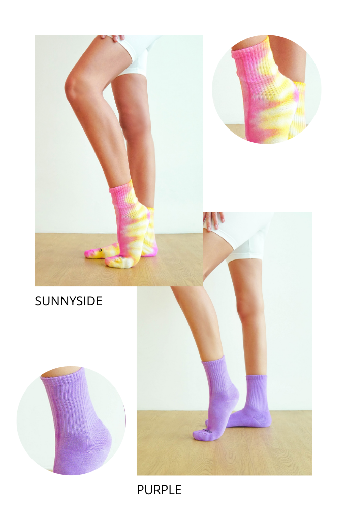LIVLOLA x Good Juju Tie-Dye Socks (2-pair)