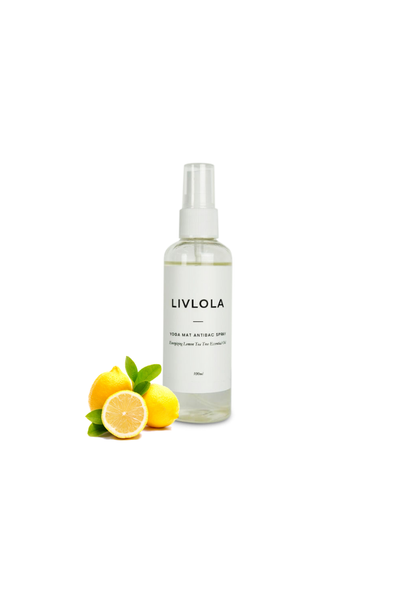 YOGA MAT ANTIBAC CLEANING SPRAY in lemon tea tree