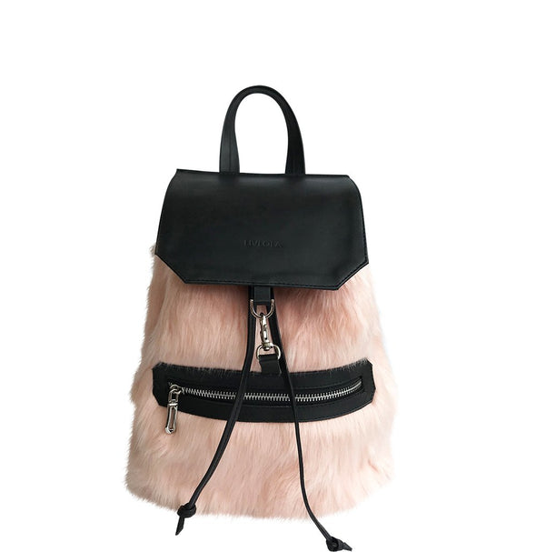 LAURYN MINI BACKPACK in light pink