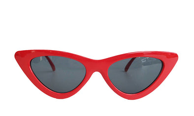RETRO BAE SUNGLASSES in red