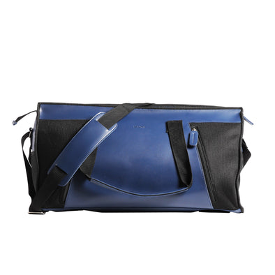 LAKOTA DUFFEL BAG in navy blue & black