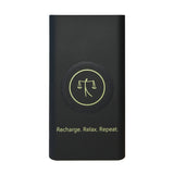 Powerbank black front