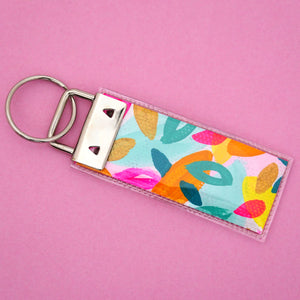 'Colour 13' Canvas Keyring- Poppy Lane Designs
