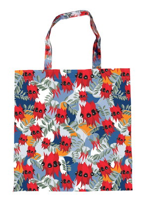 Sturt's Desert Pea Foldable Shopping Bag