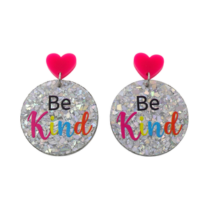 'Be Kind' Dangle Earrings