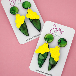Wattle Dangle - Sarissa Studs