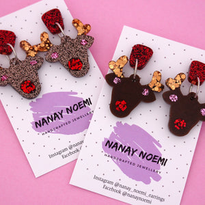 Rudolf Dangle Earring- Nanay Noemi