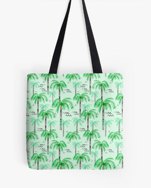 Palm Tree Tote Bag- Make Merriness
