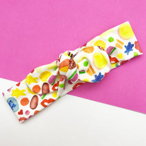 Lolly Bag BowKnot Headband- TopKnot Girl