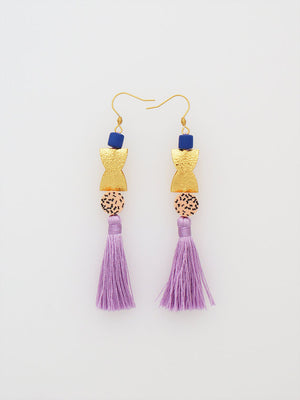 Lilac Vanah Earrings- Middle Child