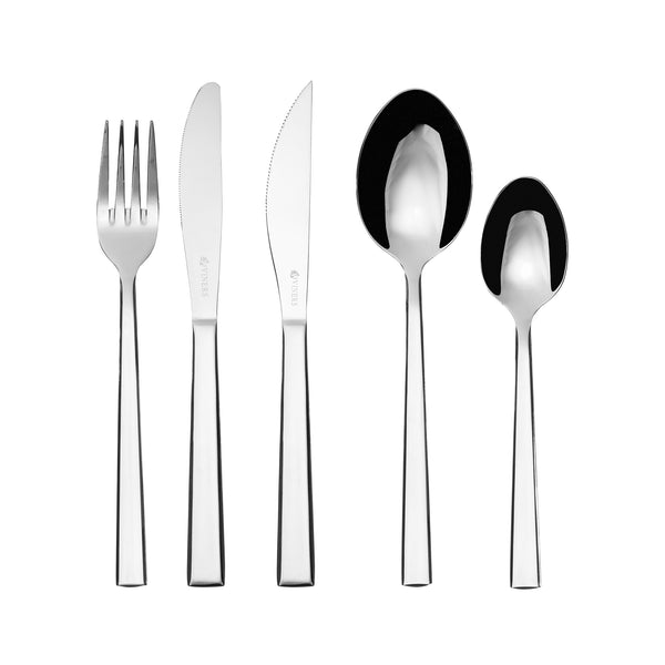 Mercury 18/0 16pc Cutlery Set+4 Steak Knives, Homeware4u.com