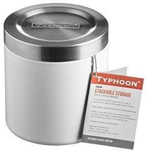 Typhoon Hudson Stacking Storage, White, 11 cm, Homeware4u.com