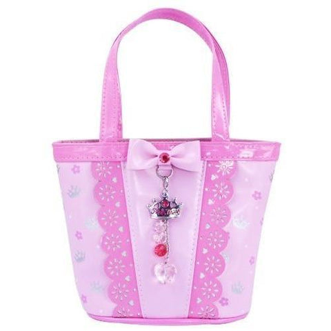 Pink Poppy Sweetness Little Girls Handbag - Pale Pink, Homeware4u.com