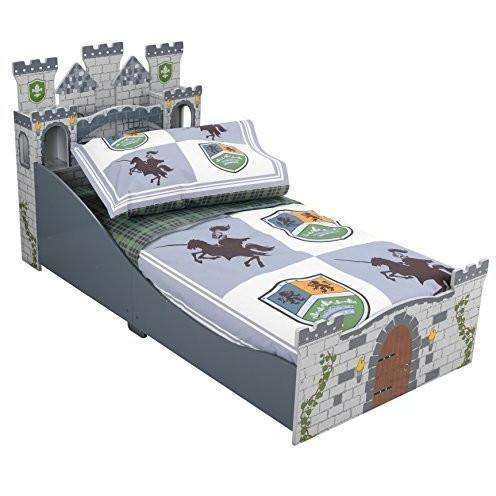 KidKraft Knights and Shields Castle Toddler Bedding Set, Homeware4u.com