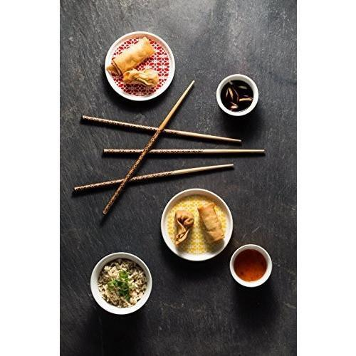 Typhoon Lotus Chopsticks, Bamboo, 1400.942, Homeware4u.com