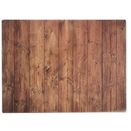Typhoon Rectangular Work Surface Protector, Wood, 40 x 30 x 7 cm, Homeware4u.com