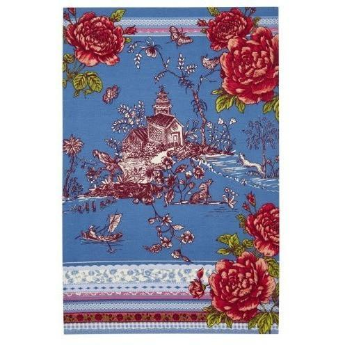 Ulster Weavers Willow Oriental Cotton Tea Towel, Homeware4u.com