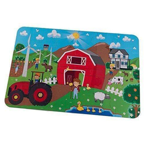 KidKraft Farm Floor Puzzle, Homeware4u.com