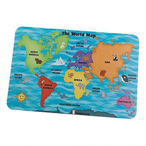 Kidkraft Floor Puzzle - Map of the World, Homeware4u.com