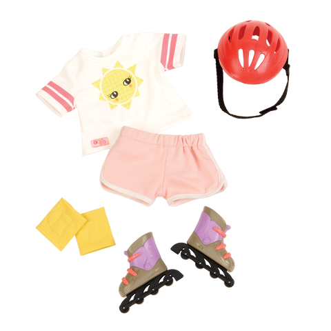 Our Generation Roll With It Regular Outfit for 18-inch dolls, Homeware4u.com