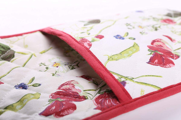Double oven glove RHS Sweet Pea, Homeware4u.com
