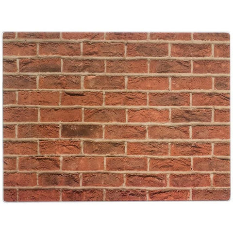Typhoon Brick 40x30cm Rect Work Surface Protector, Homeware4u.com