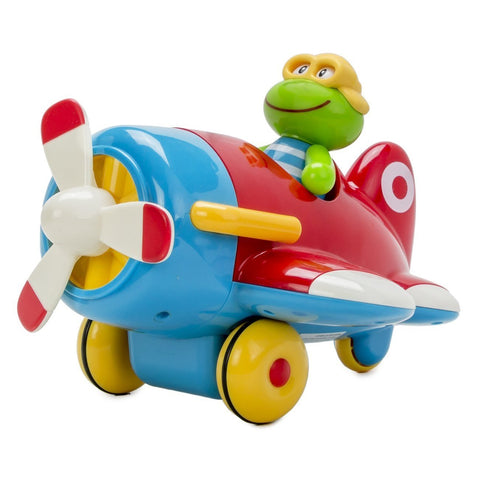 Early Learning Centre Frankie Frog and His Flying Machine ToyBox:ELC:Homeware4u.com